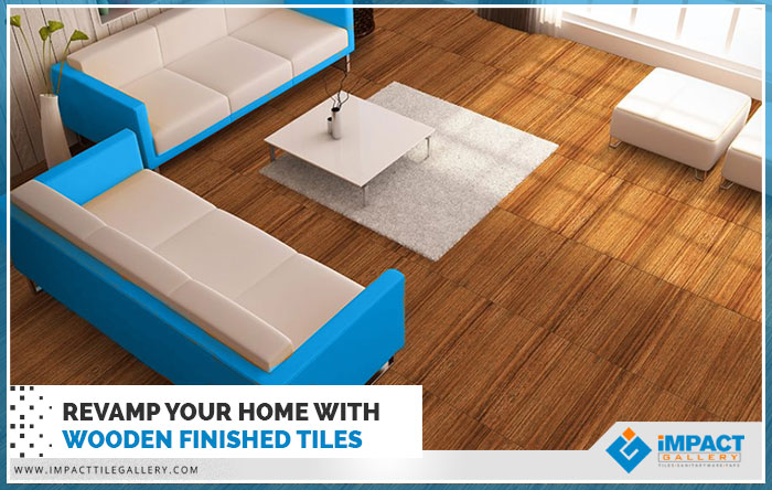 revamp your home with wooden finished tiles