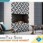 How different tile sizes can transform your homes